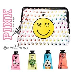 💕VS PINK ON THE GO BEAUTY BAG & LOTION BUNDLE